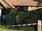 Den poté, co kriminalisté našli ve stodole stavení v Záhornicích na Nymbursku...