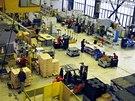 Výrobní hala společnosti Foxconn v Pardubicích (ilustrační snímek)