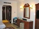 Hotelov� pokoj v egyptsk�m letovisku Hurghada, ve kter�m byly nalezeny mrtv�