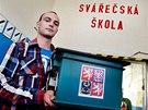 Studentsk� volby prob�hly i na St�edn� �kole polytechnick� v Brn�, ve volebn�