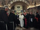 Návštěva papeže Františka v Assisi