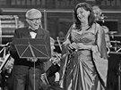 Cimrmanolog Miloň Čepelka si v operetě Proso zazpíval se sopranistkou Adrianou
