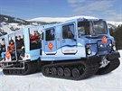Nové rolby převezou lyžaře mezi Černou horou a Pecí pod Sněžkou