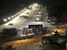 Večerní lyžování v Peci pod Sněžkou na Javoru