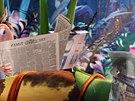 Záběr z animovaného filmu Zataženo, občas trakaře II