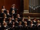 Zahajovací koncert 118. koncertní sezony České filharmonie v pražském Rudolfinu...
