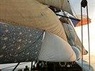Česká plachetnice La Grace použila při závodě ve Středozemním moři i ložní...