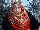 Inna Čurikovová ve filmu Mrazík (1964)