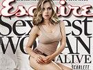Scarlett Johanssonová na obálce listopadového vydání magazínu Esquire (2013)