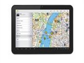 Aplikace PhoneMaps na mobilním telefonu s OS Android