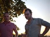 Architekti z 0,5 studio: Vít Svoboda (vlevo) a Pavel Nový
