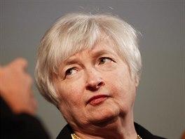 Viceguvernérka americké centrální banky Janet Yellenová.
