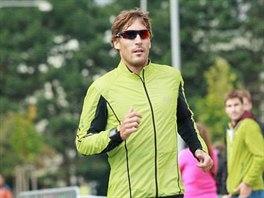 Český triatlonista Tomáš Svoboda