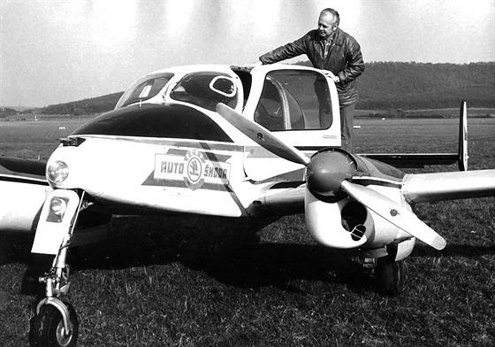 LET L-200A Morava ve službách AZNP Mladá Boleslav. Dnes už málokdo ví, že boleslavská Škodovka měla po určitou dobu svoji leteckou dopravu.