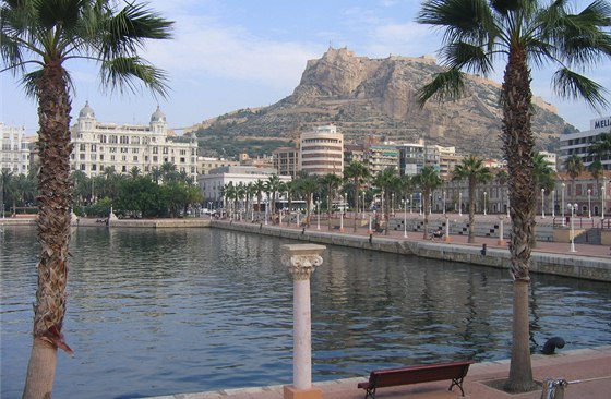 Alicante, hrad Santa Barbara