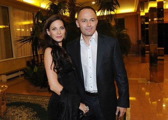 Andrea Verešová a její manžel Daniel Volopich