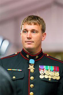 Seržant námořní pěchoty Dakota Meyer dostal Medaili cti za hrdinství v bitvě