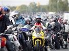 Vzpom�nkov� j�zda na Masarykov� okruhu za jezdce Simoncelliho (12. ��jna 2013)