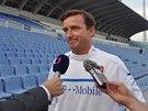 Jeden z posledních dnů ve funkci manažera fotbalové reprezentace. Vladimír