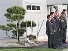 K tradičním korejským rituálům při zahájení provozu patří zasazení stromu.