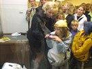 Z�jem o so�ku Pet�kovick� venu�e, vystaven� v Ostrav� v roce 2003.