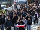 """Demonstranti při sobotním protestu """"Proti rasismu a policejnímu násilí"""" v..."""