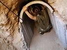 Izraelská armáda objevila 1,7 kilometrů dlouhý tunel už v pondělí.