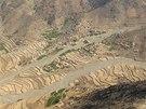 Údolí Ganjgal Gar v afghánské provincii Kunar