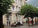 Justiční palác ve švýcarské Bellinzoně