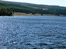 Vodní nádrž Fláje je jedinou českou pilířovou přehradou.