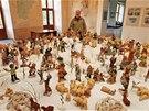 Betlém Jaroslava Hrubého z Linhartov je údajně největším keramickým svatým