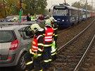 Obě nehody značně zkomplikovaly dopravu mezi centrem Ostravy a Porubou. (14....
