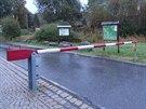 Na česko-německý hraniční přechod v Novém Údolí se vrátila závora.