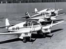 Trojice Ae-45S Super, prostřední stroj je připraven pro dodání zákazníkovi ze Švýcarska.