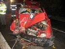 """Třiadvacetiletý muž za volantem se při honičce s policií snažil """"předat volant""""..."""