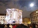 Audiovizuální SIGNAL festival rozsvítil Prahu videoinstalacemi a...