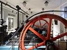 Původní strojovna Vinohradského pavilonu.