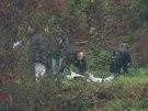 Lidskou ruku našli policisté nedaleko Barrandovského mostu na levém břehu řeky