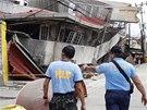 Otřesy půdy o síle 7,2 magnituda poškodily na filipínském ostrově Cebu desítky