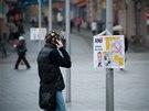 Liberecké náměstí zaplavily falešné plakáty hnutí ANO.