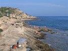 Pobřeží severně od Alicante