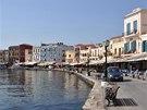 Přístavní promenáda v Chanii, podle mnohých nejhezčího krétského města