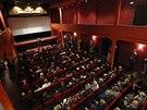 Slavné kino Eden se dočkalo otevření po rozsáhlé rekonstrukci (9. října 2013)