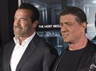 Arnold Schwarzenegger a Sylvester Stallone (15. října 2013)