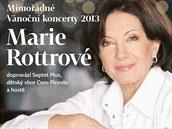 Marie Rottrová chystá na prosinec 2013 mimořádné vánoční koncerty.
