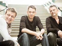 Robert Balzar Trio (zleva Jiří Slavíček, Jiří Levíček, Robert Balzar)