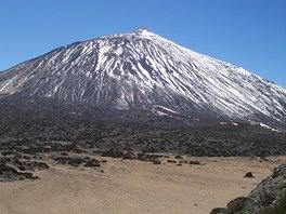 Pico de Teide v zimě