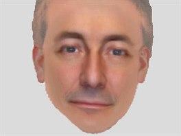 Portrét muže, který je podezřelý z únosu malé Madeleine McCannové.