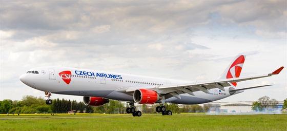 Zatím posledním přírůstkem ve flotile ČSA je Airbus A330-300.