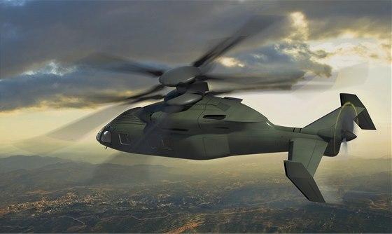 Nějak takto si budoucnost helikoptér představují společnosti Boeing a Sikorsky.